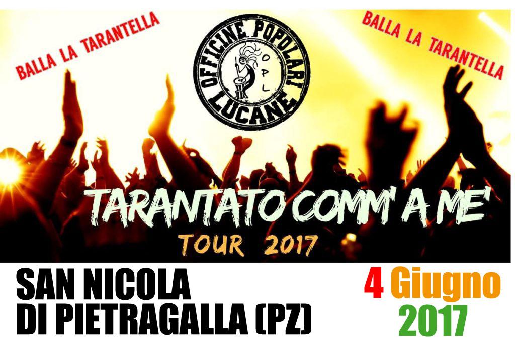 Pietro Cirillo in concerto 04 Giugno 2017 San Nicola di Pietragalla