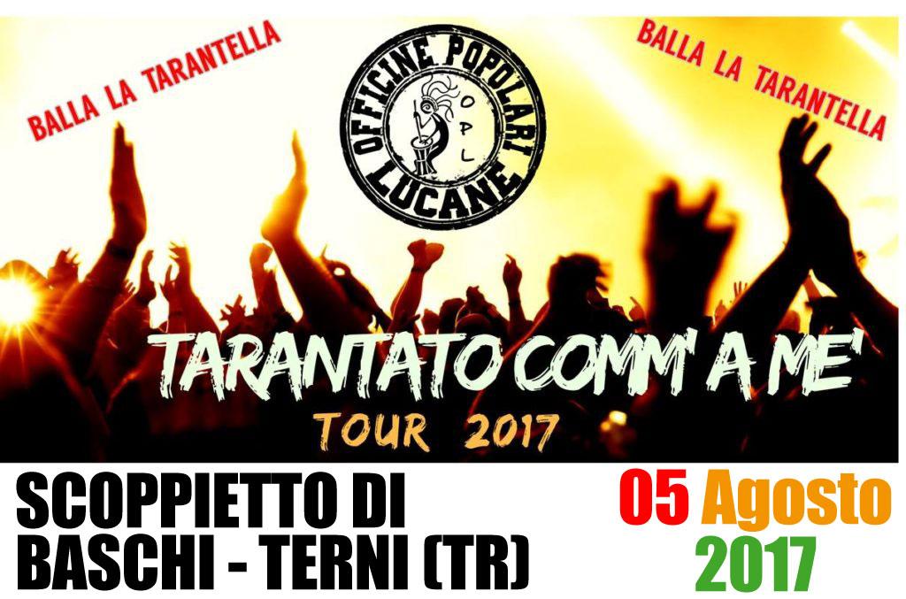 Pietro Cirillo in concerto 05 Agosto 2017 Scoppietto di Baschi