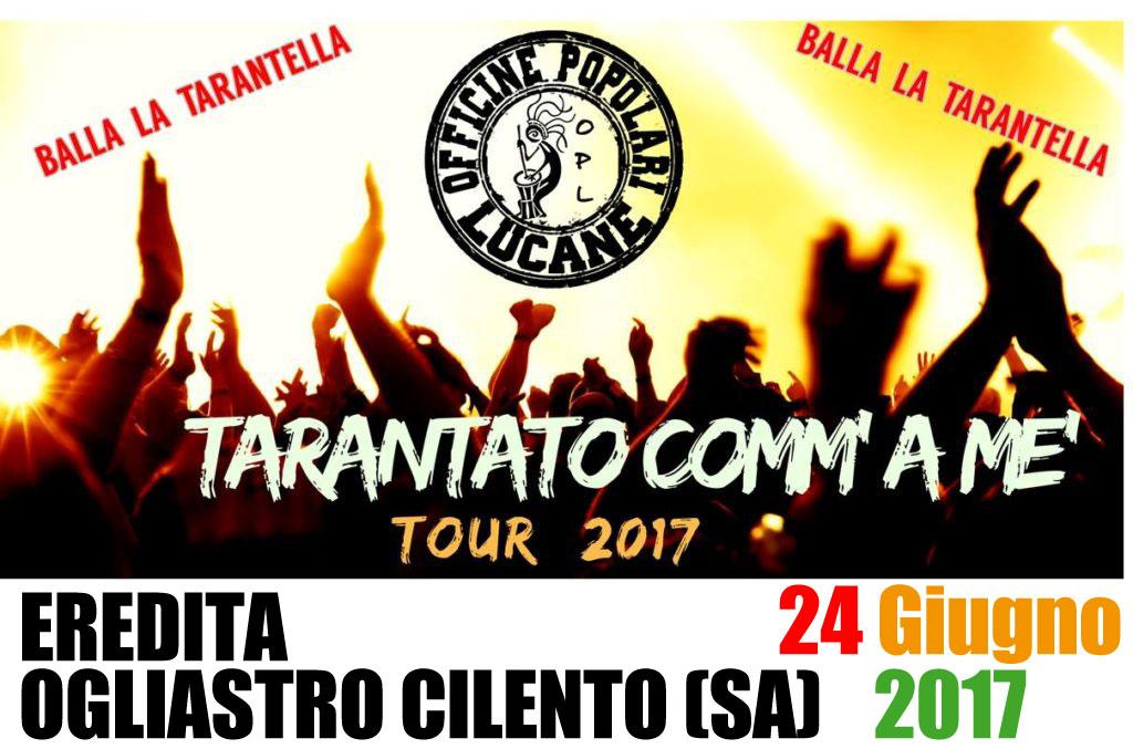 Pietro Cirillo in concerto 24 Giugno 2017 Eredita - Ogliastro Cilento