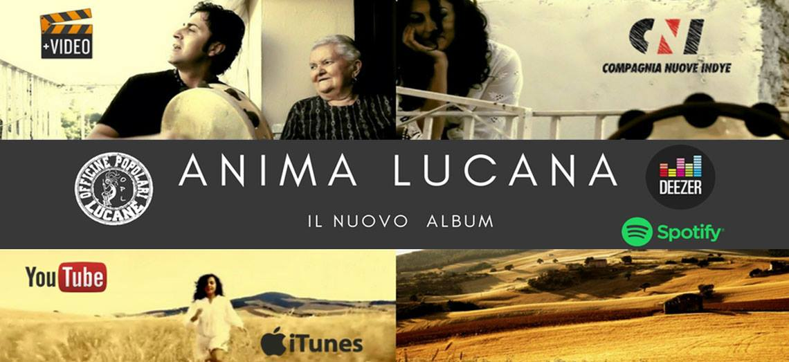 Anima Lucana di Pietro Cirillo - Officine Popolari Lucane