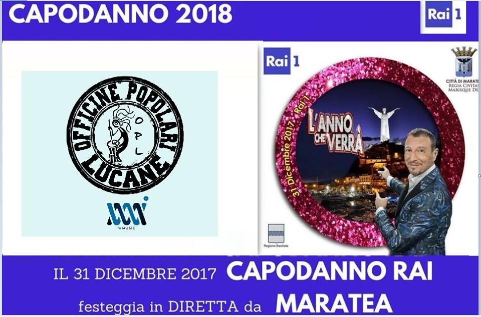 Pietro Cirillo Officine Popolari Lucane - Anno che verra Rai 1