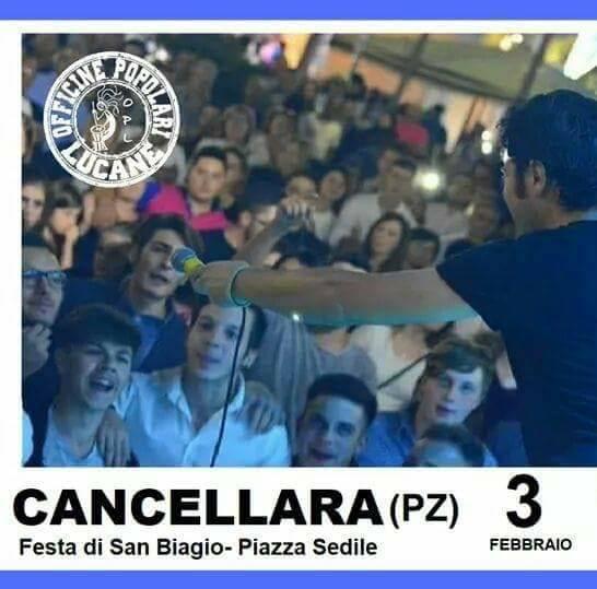 Pietro Cirillo in concerto Cancellara PZ
