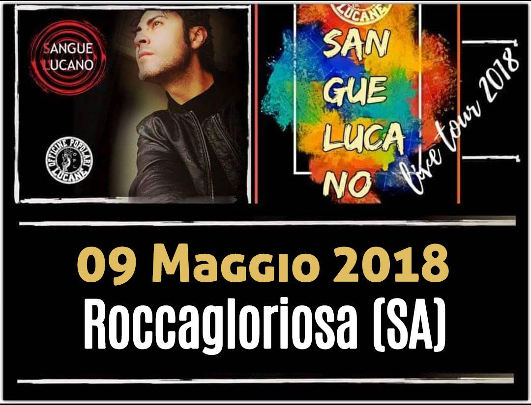 Sangue Lucano - Live Tour 2018 Pietro Cirillo 09-mag-2018