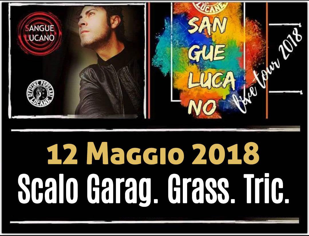 Sangue Lucano - Live Tour 2018 Pietro Cirillo 12-mag-2018