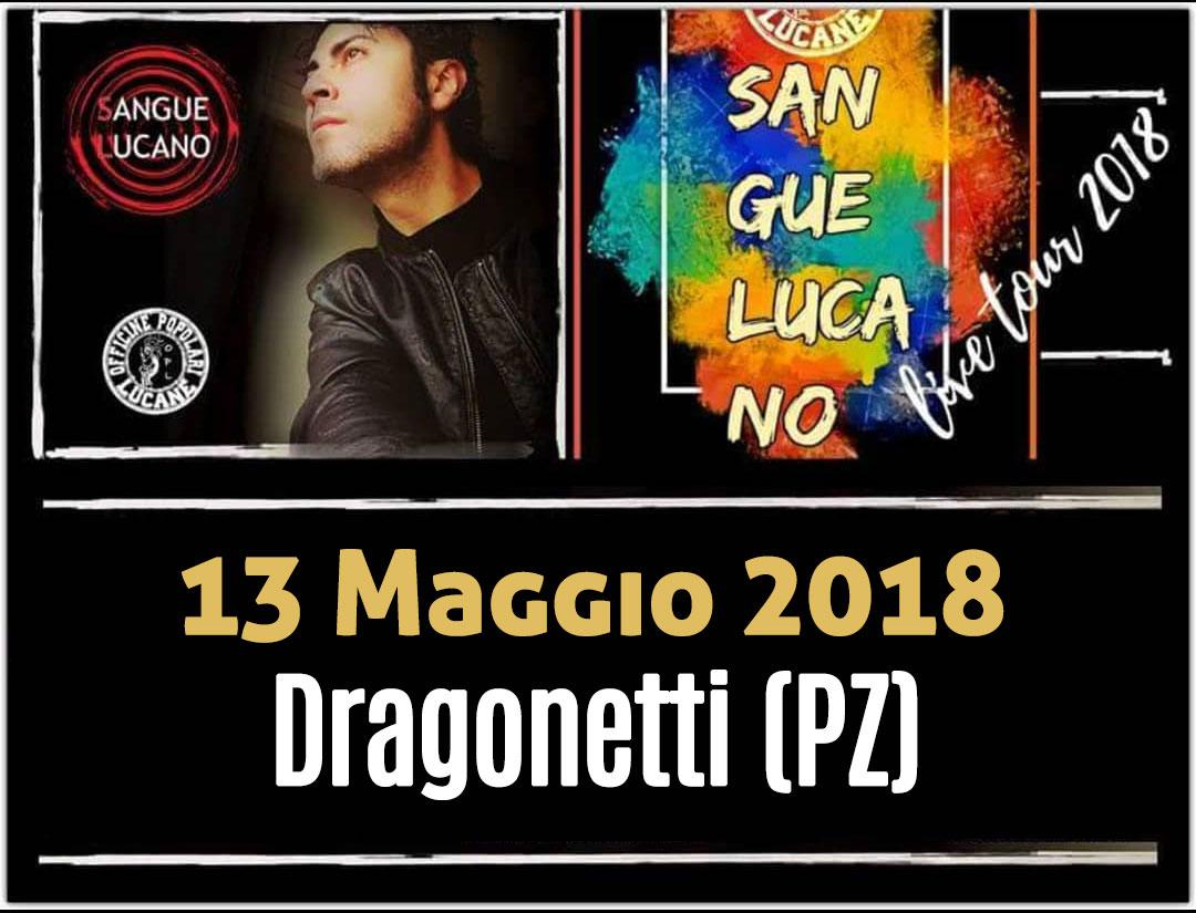 Sangue Lucano - Live Tour 2018 Pietro Cirillo 13-mag-2018