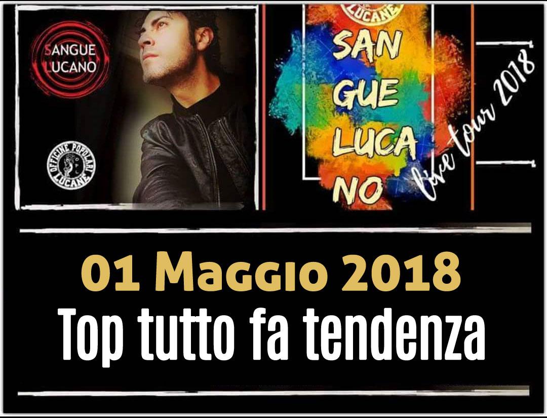 Sangue Lucano - Live Tour 2018 Pietro Cirillo 01-mag-2018