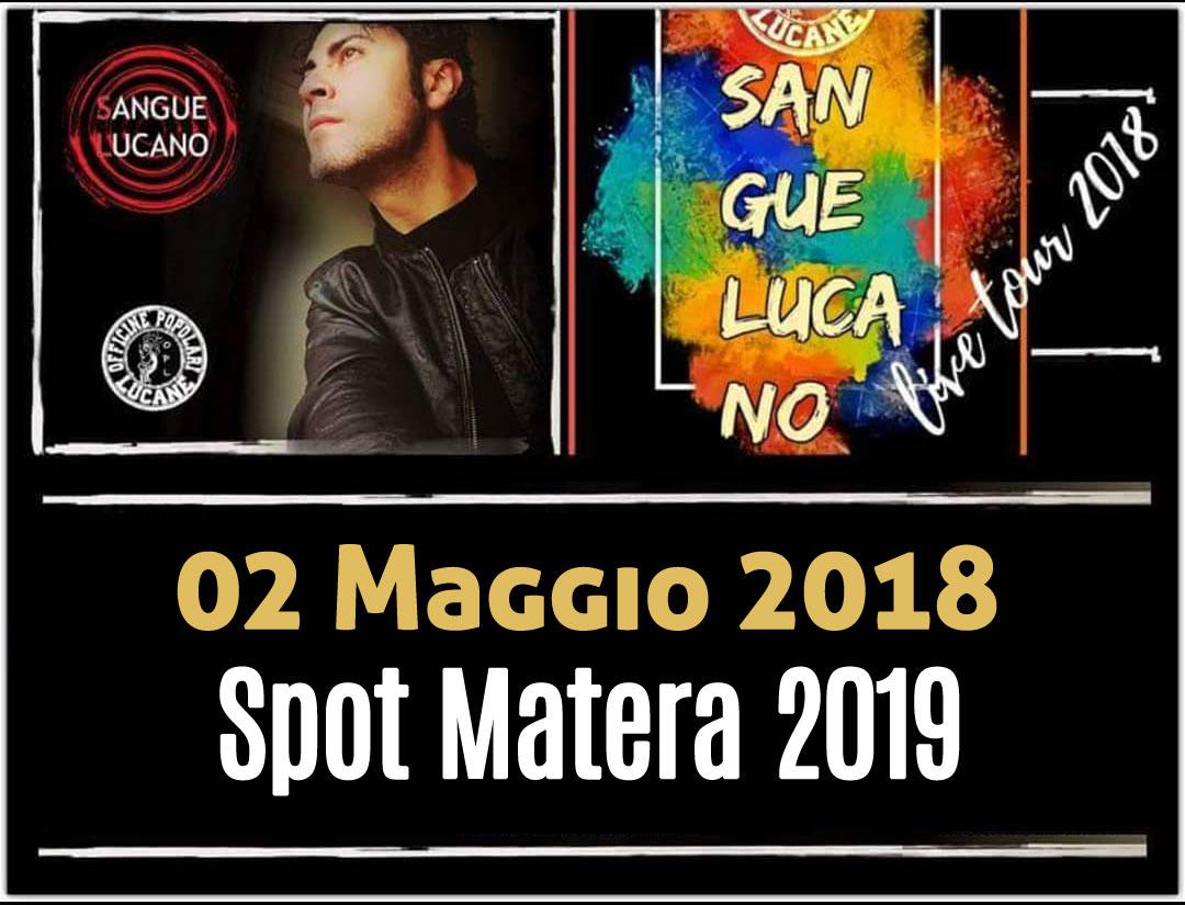 Sangue Lucano - Live Tour 2018 Pietro Cirillo 02-mag-2018
