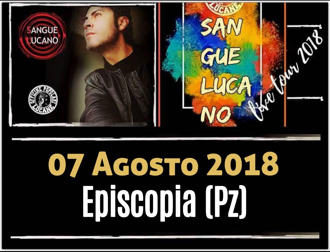 Sangue Lucano - Live Tour 2018 Pietro Cirillo 07-ago-2018
