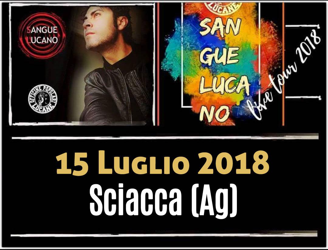 Sangue Lucano - Live Tour 2018 Pietro Cirillo 15-lug-2018