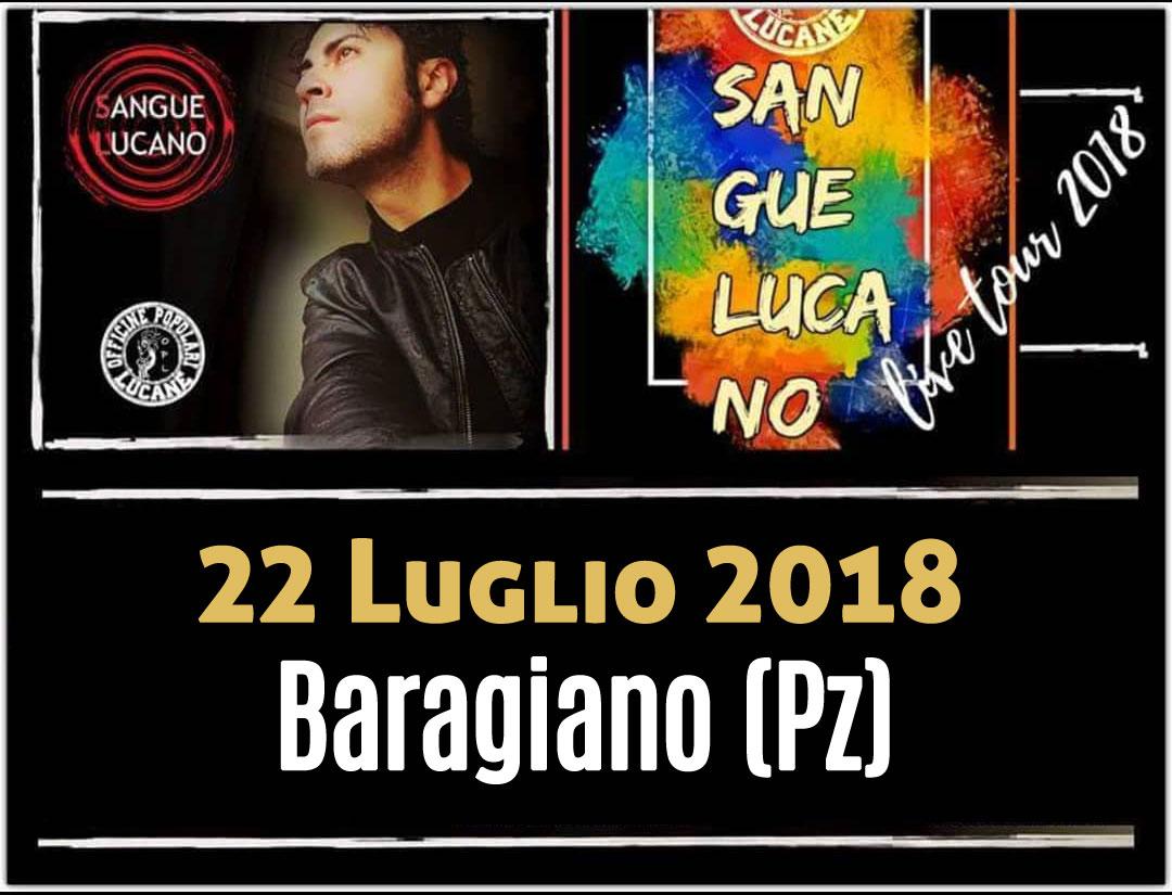Sangue Lucano - Live Tour 2018 Pietro Cirillo 22-lug-2018