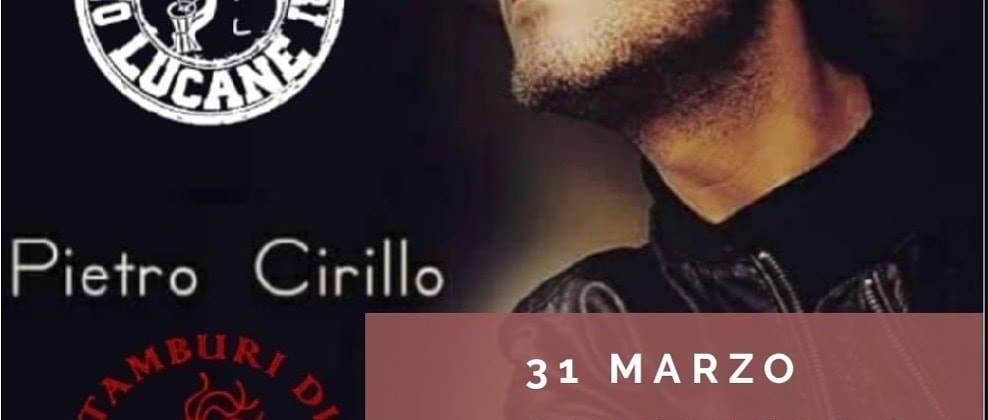 Pietro Cirillo concerto a Grugliasco 31 marzo 2019